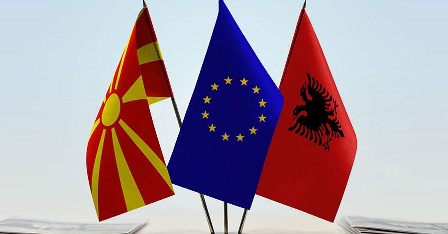 EU Albanië Macedonië